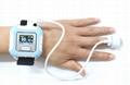 血氧传感器LCD屏医用睡眠蓝牙腕部脉搏血氧仪 3