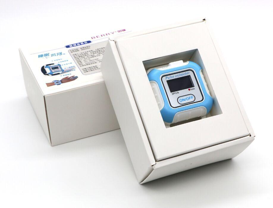 睡眠呼吸暫停OLED顯示屏藍牙脈搏血氧儀 3