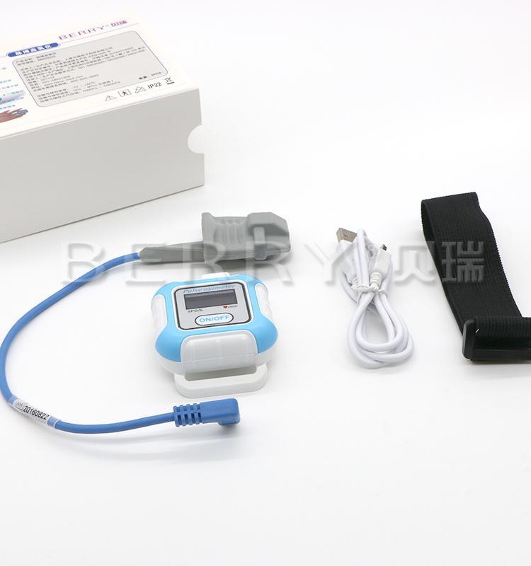 睡眠呼吸暫停OLED顯示屏藍牙脈搏血氧儀 4