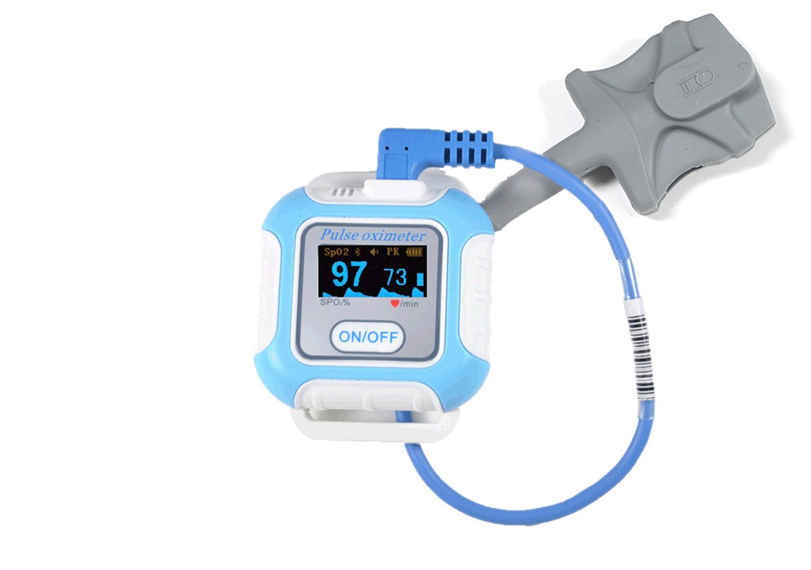 诊断睡眠呼吸暂停医学CE批准蓝牙手腕脉搏血氧仪 5