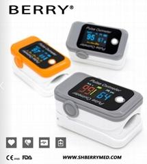 的最新便携式LED指尖脉搏血氧仪
