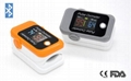 Extremely low power consumption fingertip pulse oximeter
