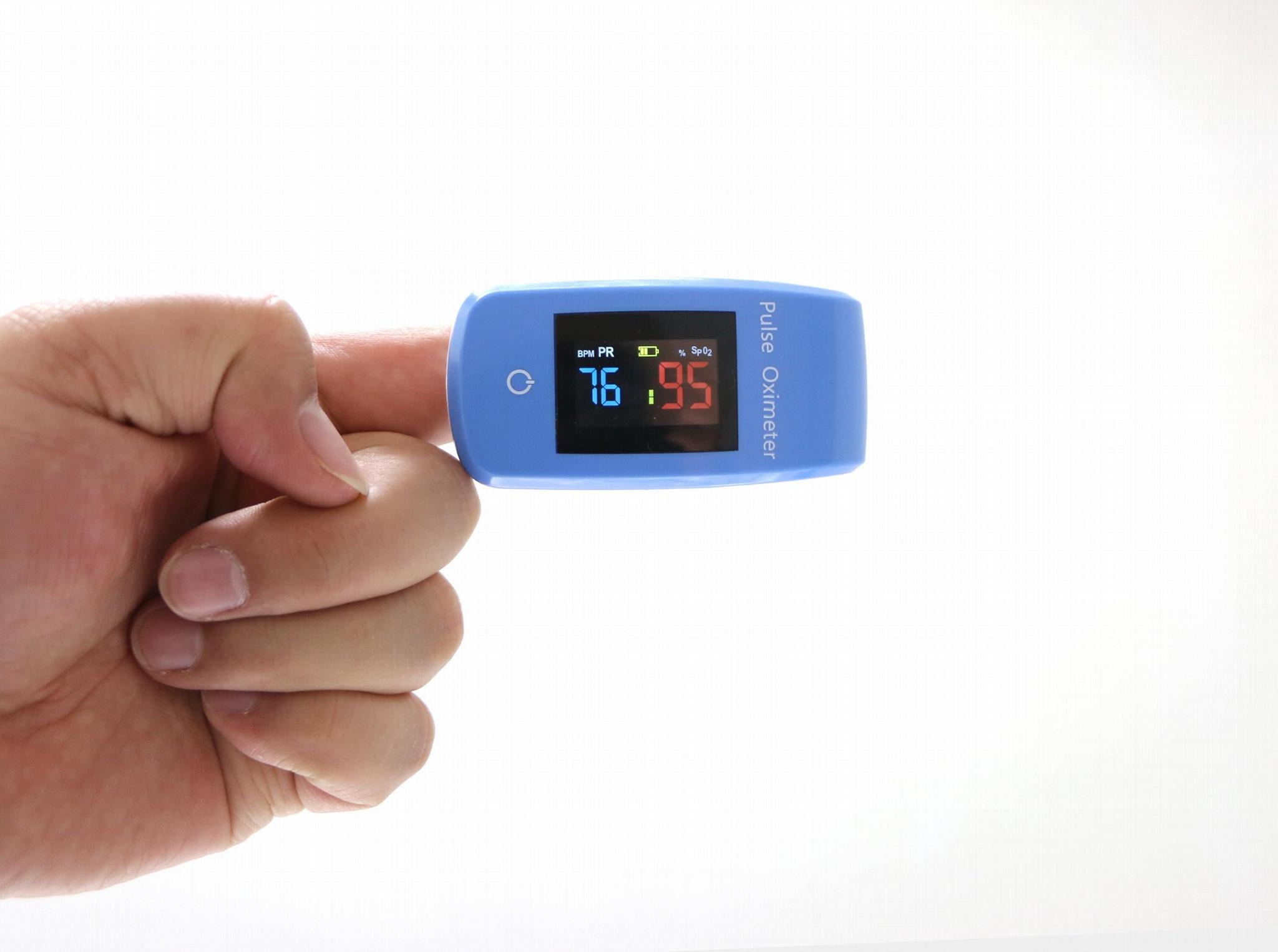 FDA批准手指尖便攜式脈搏血氧儀和監測儀 4
