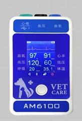 医院卫生多参数兽医便携式病人监护仪