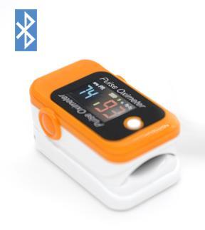 FDA&CE认证的LCD屏血氧蓝牙指夹脉搏血氧仪 1
