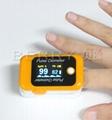 FDA&CE认证的LCD屏血氧蓝牙指夹脉搏血氧仪 3