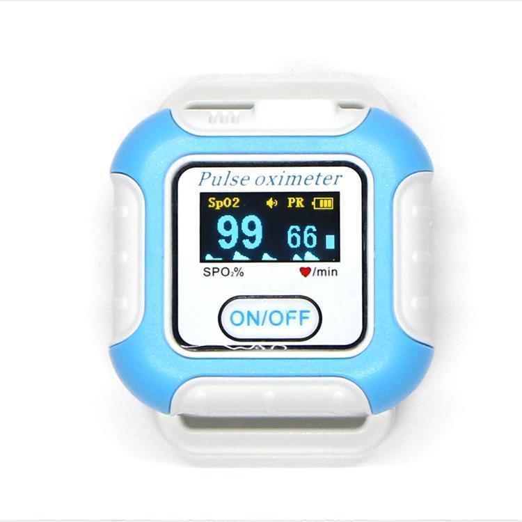 新型手腕可穿戴式数字睡眠呼吸暂停蓝牙脉搏血氧仪 1