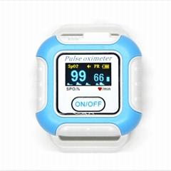 新型手腕可穿戴式数字睡眠呼吸暂停蓝牙脉搏血氧仪