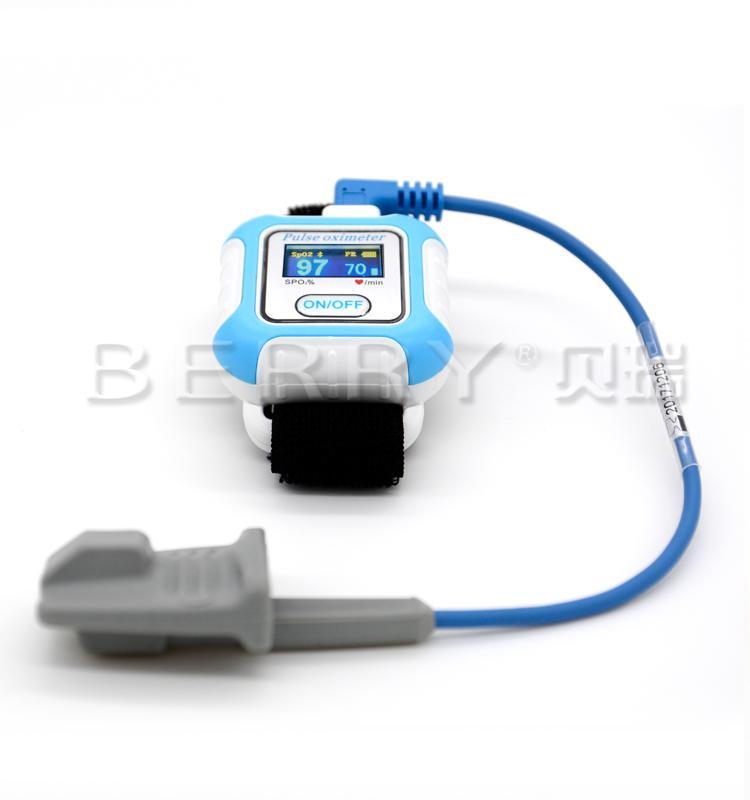 新型手腕可穿戴式数字睡眠呼吸暂停蓝牙脉搏血氧仪 2