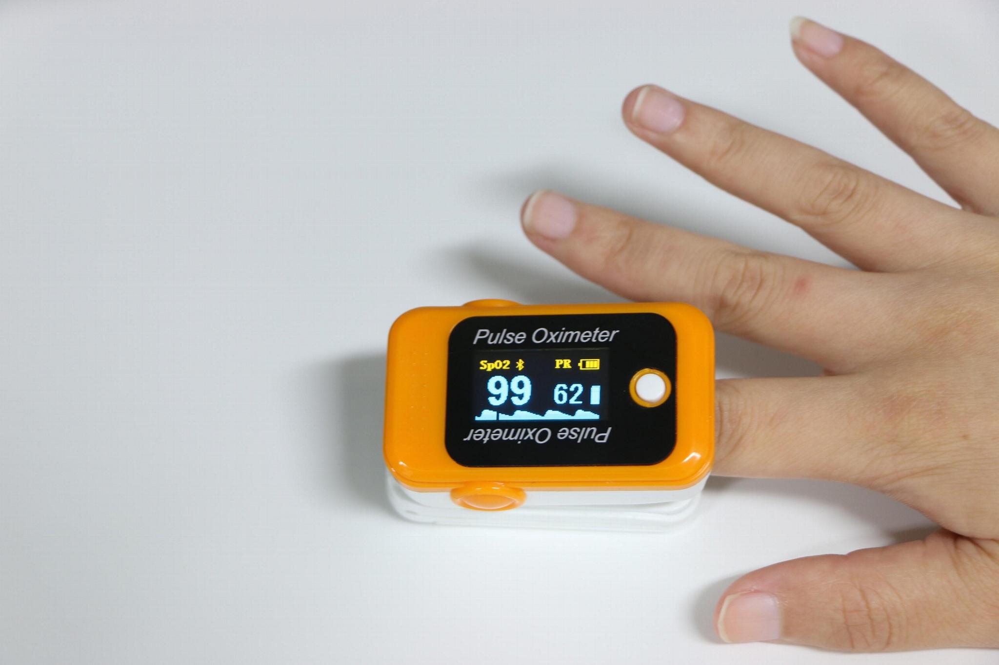 醫用診斷血指夾血氧儀 2