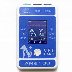 專業廉價便攜式寵物醫院獸醫監護儀