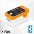 New design cheap fingertip pulse oximeter with OLED display