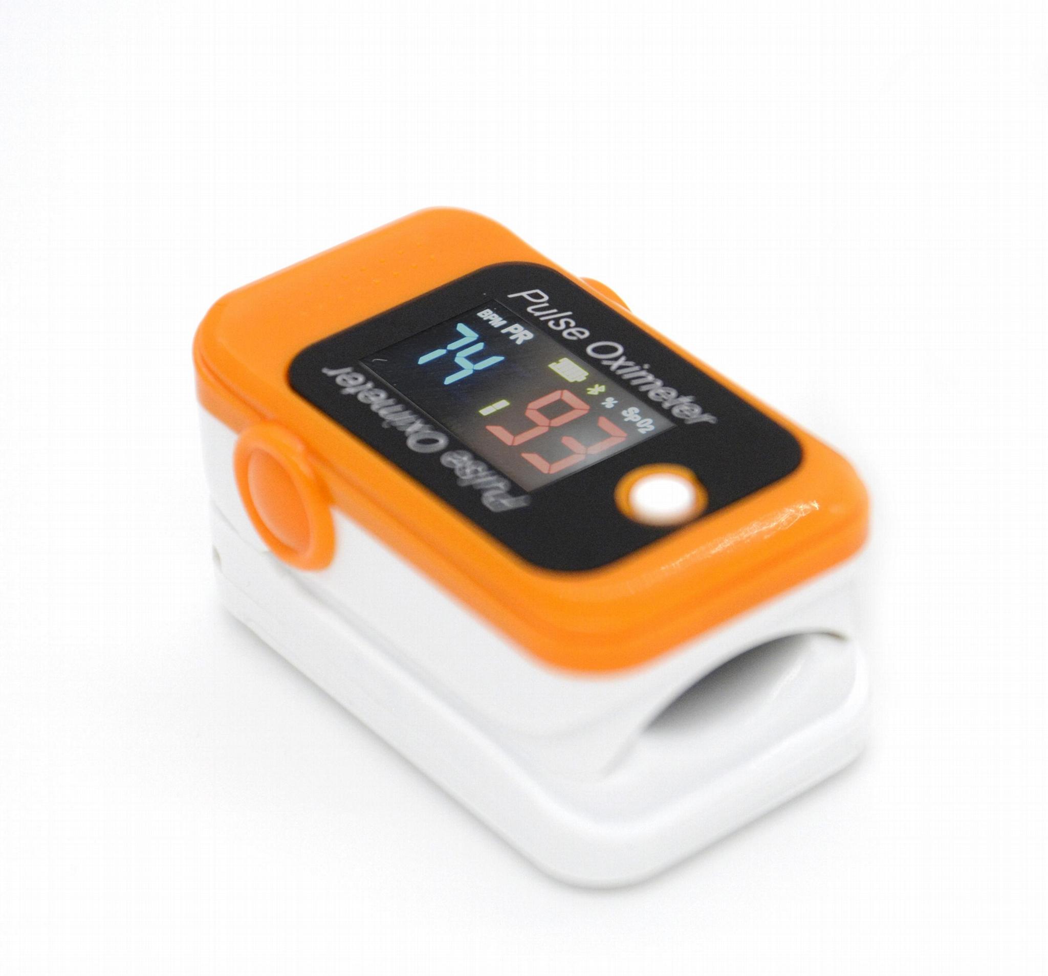 全新设计的廉价OLED屏指尖脉搏血氧仪 2