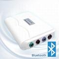 帶有心電/呼吸/動脈血氧飽和度/脈搏/血壓/體溫的監測儀 4
