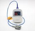 带有体温的手持式医疗用脉搏血氧
