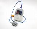 帶有體溫的手持式醫療用脈搏血氧儀 4