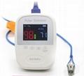 帶有體溫的手持式醫療用脈搏血氧儀 5