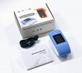 带有血氧参数的医用OLED屏数字指尖脉搏血氧仪 5