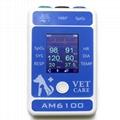 動物六參數心率醫用便攜式藍牙患者監護儀 2