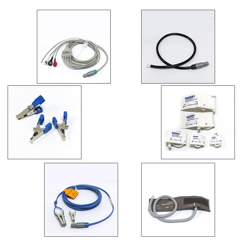 動物六參數心率醫用便攜式藍牙患者監護儀 4