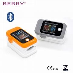 具有CE和FDA認証的LED數字手指脈搏血氧儀