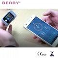 具有CE和FDA認証的LED數字手指脈搏血氧儀 2
