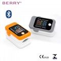 具有CE和FDA认证的LED数字手指脉搏血氧仪 3