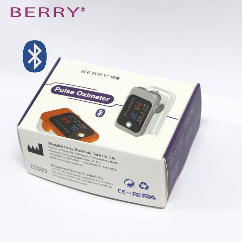 具有CE和FDA認証的LED數字手指脈搏血氧儀 4