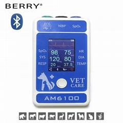 醫療CE認証的多參數便攜式患者監護儀
