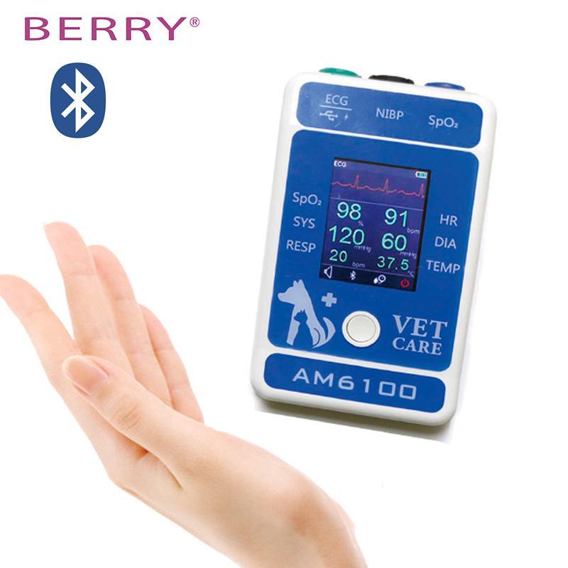 帶有獸醫配件的數字LCD屏高質量獸醫監測儀 1