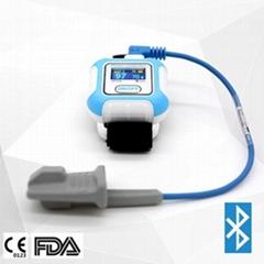 監測睡眠呼吸暫停綜合征的腕式脈搏血氧儀