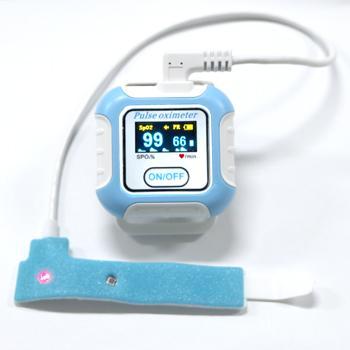 CE/FDA认证的新型手腕穿戴式数字睡眠呼吸暂停症状蓝牙脉搏血氧仪 1