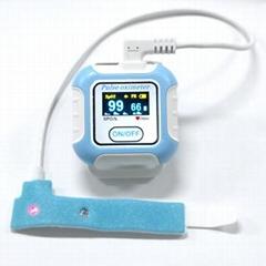 CE/FDA認証的新型手腕穿戴式數字睡眠呼吸暫停症狀藍牙脈搏血氧儀
