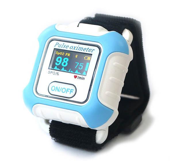 CE/FDA認証的新型手腕穿戴式數字睡眠呼吸暫停症狀藍牙脈搏血氧儀 3
