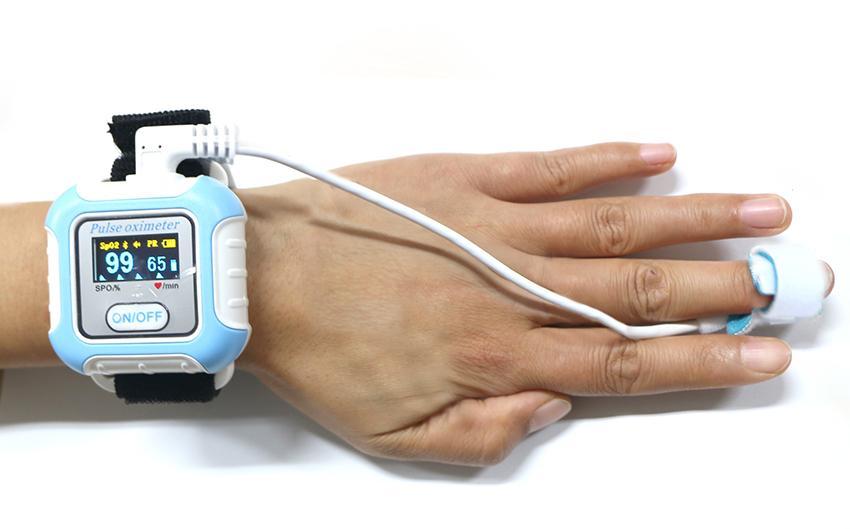 CE/FDA認証的新型手腕穿戴式數字睡眠呼吸暫停症狀藍牙脈搏血氧儀 5