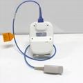 OLED屏微型便携式手持式指尖脉搏血氧仪 4