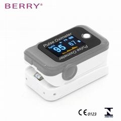 便宜的CE/FDA認証的家用LED屏指尖脈搏血氧儀