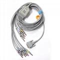 nihon kohden,Schiller, 12 leads ekg cable