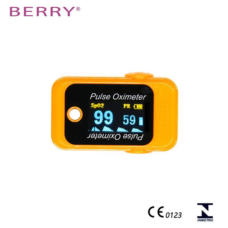 CE认证的IOS和安卓能使用的OLED屏蓝牙指尖脉搏血氧仪 5