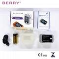 CE认证的IOS和安卓能使用的OLED屏蓝牙指尖脉搏血氧仪 6