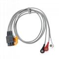 mindray,nihon kohden,Schiller, 12 leads ekg cable