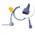 Nellcor Adult Fingertip Spo2 Sensor Silicone Soft 3ft 7 P