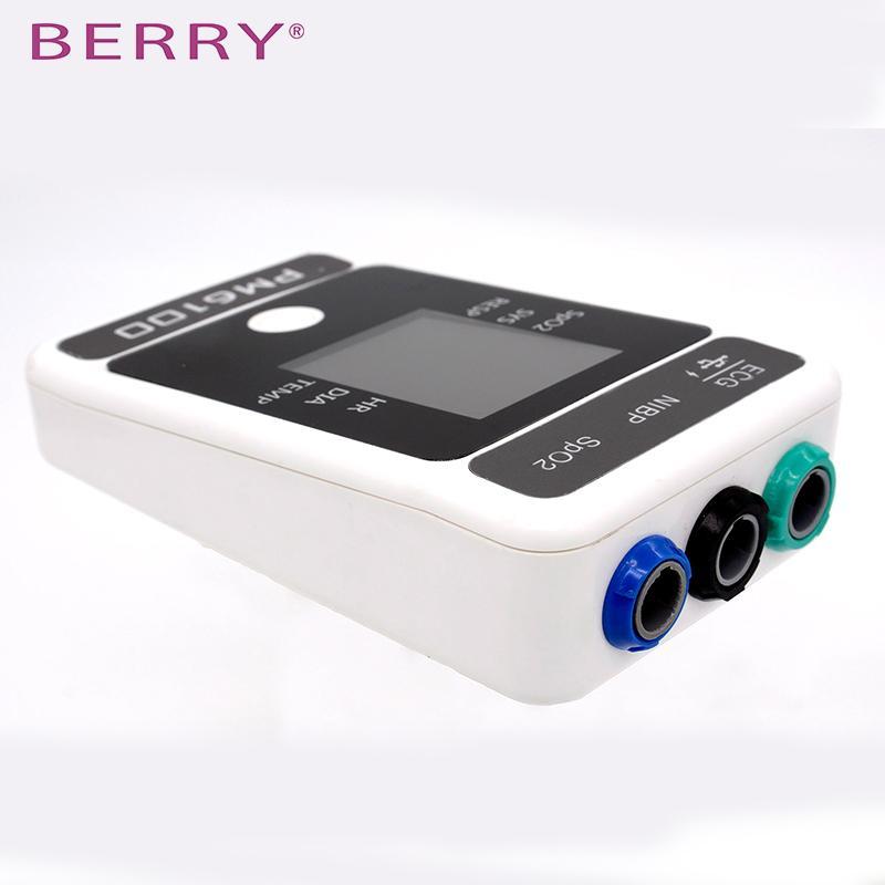 CE认证的2.4英寸无线彩色触摸屏患者监护仪 5