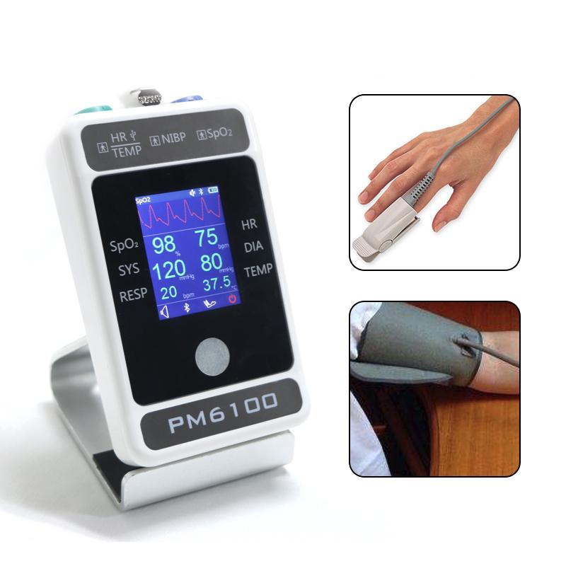 最新的六參數病人或獸用監測儀 1
