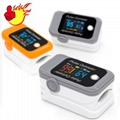 CE approved OLED display SPO2 PR portable fingertip pulse oximeter