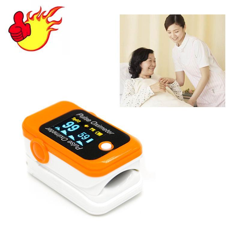 具有CE认证的OLED屏便携式指尖脉搏血氧仪 1