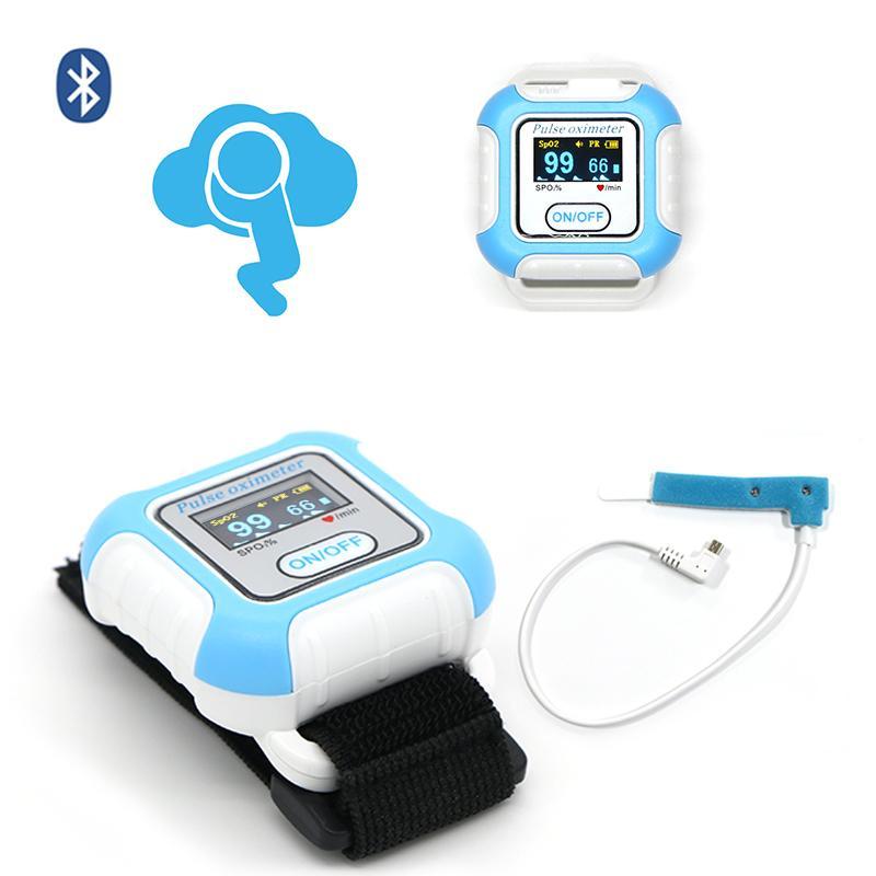 睡眠呼吸暫停OLED顯示屏藍牙脈搏血氧儀 1