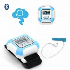 sleep apnea OLED display Wrist Pulse Oximeter with Bluetooth