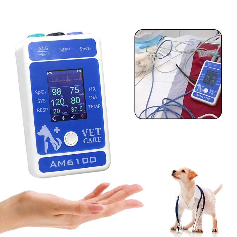 動物六參數心率醫用便攜式藍牙患者監護儀 1