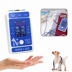 动物六参数心率医用便携式蓝牙患者监护仪